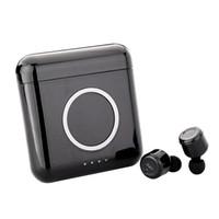 Wholesale wireless headphones for mobile phones resale online - X4T TWS Bluetooth Headphones Earphone Wireless Charger Box For Mobile Phone HiFi Headset With Micphone For Smart Phones