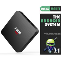 Wholesale android tv box quad core 16g resale online - T95 S2 Android TV Box G G Amlogic S905W Quad Core D K Streaming Meida Player G Wifi Smart Box GB GB