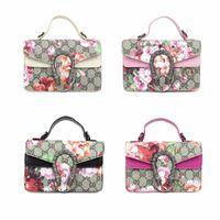 Wholesale princess handbags for sale - Group buy Kids Handbags Fashion Korean Girls Mini Princess Purses Classic Letter Floral Printed Cross body Bags Coin Purses Gifts