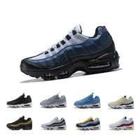 a5fd52541f 2018 new Air men casual Running shoes 95 black gold red 95s chaussures  white designer trainer Sports Mens Maxes Zapatos Sneakers on sale