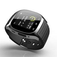luxus-schrittzähler großhandel-Smart Watch IP67 Luxus Fitness Sportuhr mit SMS Dial Reminder Pedometer zum Anschluss von Samsung LG HTC IOS Android