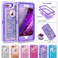glitter bling wallet großhandel-Strass bling diamant glitter case für iphone x xs xr xs max 7 8 plus 6 6 s weiche silikon tpu sexy girly protector rückseite