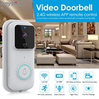 Wholesale video door entry intercoms for sale - Group buy B60 Doorbell HD P WIFI Wireless Smart video Door bell Visual Intercom IP Door Bell Cloud Storage Wireless Security Camera car