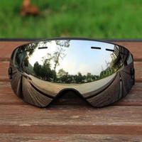 schnee-ski-brille groihandel-Professionelle Männer Frauen Skibrille Brillen doppelte Schichten UV400 Anti-Nebel Big Ski-Maske Ski Brille Schnee Snowboardbrillen