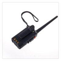 radio fcc al por mayor-BAOFENG Versión clásica UV-5R Banda doble Modelo VHF UHF 136-174 400-520 Mhz. Radio de mano mejorada Pase FCC 90 Certificación de la pieza Shippi libre