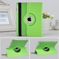 flip cover schlaf großhandel-Fall für Apple iPad Magnetische Auto Wake Up Schlaf Flip Litschi PU Ledertasche mit Ständer Halter für iPad 2/3/4