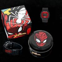 caixas de relógio de metal venda por atacado-2019 nova qualidade superior de moda relógio de luxo relógio de choque marvel avengers g5600 esportes relógio caixa de metal