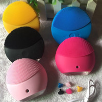 Wholesale sonic skin care brush for sale - Group buy Hot cleansing instrument Facial Cleansing Brush Sonic Cleansing Face Skin Cleaning Silicone Waterproof Skin Care Tools Accessories