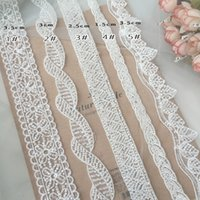 Embroidery beaded Lace Trim Wedding dress Sewing Accessories SD51