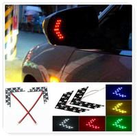 Wholesale car door panel led lights for sale - Group buy 2Pcs Car LED Arrow Panel Rearview Mirror Indicator Turn Signal Light forAudi I Ah Ah A8 A3 A4 A6 A5 Q7 R A3 Door