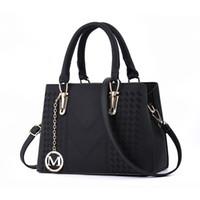 ручка оптовых-Дизайнерские сумки Женская сумка через плечо с верхней ручкой Сумочка среднего размера Прочная кожаная большая сумка Женские сумки на ремне