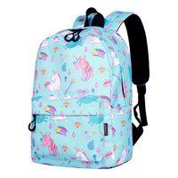 Wholesale women galaxy backpacks resale online - Cute unicorn Backpack Galaxy School Bags Fashion women Girls Boys Students Backpack Travel Bag for teenagers Stars Printing