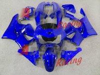 99 honda cbr großhandel-4 Geschenke New ABS Motorrad Fahrrad Fairings Kits gepasst für Honda CBR 900RR 919RR 1998 1999 CBR900RR 98 99 fairings gesetzt cool blue