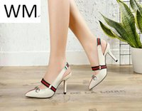 Wholesale liner dress resale online - Duping520 High Heel Sexy Heels With Dress Casual Handmade Walking Tennis Sandals Slippers Mules Slides Thongs