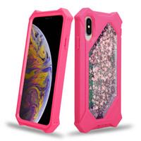 Wholesale flash shell for sale – best Hot sale quicksand case For Samsung Galaxy S10 S10E S10 PLUS three anti mobile phone shell Star flash quicksand phone case