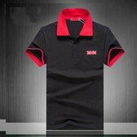 мужские дизайнерские имена оптовых-Suprême мужская футболка дизайнерская коробка с логотипом модные футболки Бутик классическая рубашка поло VL совместное имя повседневная футболка бренда Tide Хлопковые футболки