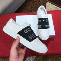 франция повседневная мода оптовых-Новое прибытие Франция Марка мужская повседневная обувь 2019 моды Luxury Дизайнер звезды любимые мужские тапки из натуральной кожи Кроссовки 38-44