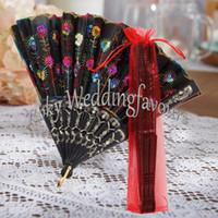 düğün için dantel el fanlar toptan satış-