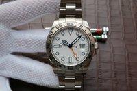 мужские часы швейцарские оранжевые оптовых-Оранжевый указатель Gmt 42 мм Swiss ETA 2836 Механизм 216570 Высочайшее качество Классический стиль 316L Сталь Автоматические мужские часы