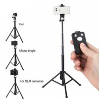 Wholesale bluetooth selfie stick samsung iphone for sale - Group buy YUNTEN in1 Bluetooth Remote Shutter Handle Selfie Stick Mini Table Tripod For IOS Android Iphone Samsung Smartphone Gopro