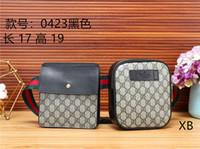 bolsas de moda exclusivas venda por atacado-Novos bolsos gêmeos marca de moda homens e mulheres bolsos bolsa de ombro elegante Messenger bag única carta impressão Messenger bag bolsa