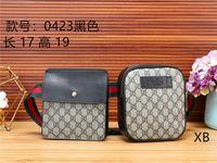 benzersiz kadın poşetleri toptan satış-Yeni ikizler cepler moda marka erkekler ve kadınlar cepler omuz çantası zarif Messenger çanta benzersiz mektup baskı Messenger çanta çanta