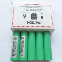 Wholesale electronics shipping boxes for sale - Group buy IN STOCK Authentic Samsung R mah A Battery For Electronic Cigarette Box Mod Fedex Tax