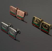 paslanmaz çelik altın mektuplar toptan satış-Yeni Lüks CZ Elmas Toptan Fiyat Markalı C Tasarımcı Küpe G Mektuplar Kulak Saplama Küpe Altın Gümüş G Mektup Paslanmaz Çelik Kadınlar için