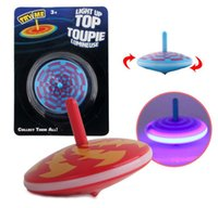 ingrosso beyblade drago 4d-Bambini illuminano top toupie gyro per bambini antistress desktop trottole giocattoli