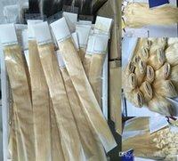 rus yığını insan saçı toptan satış-ELIBESS MARKA-100G Paket Düz dalga Sarışın Renk 613 # Virgin İnsan Saç Adet İşlenmemiş Rus Saç Atkı, Ücretsiz Kargo