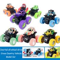 джип-автомобили оптовых-Инерция полноприводный внедорожник гонки по пересеченной местности внедорожник инерция игрушечный автомобиль дети реалистичные игрушки модели Jeep для детей игрушки