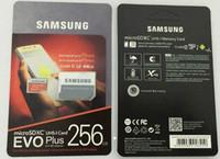 32gb micro s toptan satış-8GB / 32GB / 64GB / 128GB / 256GB Samsung EVO + Plus micro sd kart U3 / akıllı telefon TF kartı C10 / Tablet PC SDXC Depolama kartı 95MB / S