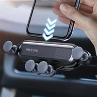 celular mp3 celular venda por atacado-Titular ravity carro para o telefone no carro Air Vent Clipe Suporte de montagem Sem Magnetic Suporte Móvel Telefone GPS Para XS MAX Xiaomi