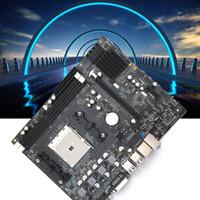 материнская плата fm1 оптовых-Новая настольная материнская плата A55 FM1 интерфейс 905-контактный процессор поддерживает двухъядерный четырехъядерный процессор DDR3 одного поколения