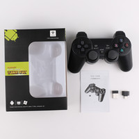 Wholesale play game station for sale - Group buy TGZ W GHz Wireless Controller for smart Joystick Gamepad smart Game Controller for Sony Play Station With box Packaging