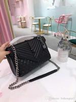 sacs à main en cuir véritable pour femmes achat en gros de-Cuir de vachette Sac à main en cuir véritable Big Baotou Couche à diamant Chaîne en treillis à la main Le projet de loi Épaule Grande Capacité Femelle B