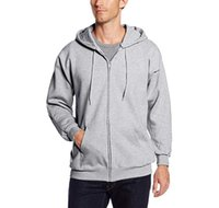 Wholesale mens spring style online - Mens Designer Hoodies Cardigan Solid Zippered Multi Colors New Spring Casual Style Fashion Fitness Coat Sweatershirt Men