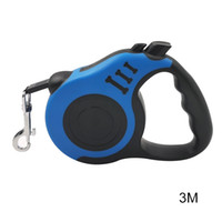 Wholesale portable hand grip resale online - Dropshipping Retractable Dog Leash Dog Walking Leash Portable Design with One Button Brake Lock Hand Grip MDP66