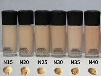 Wholesale nourish cosmetics for sale - Group buy Brands Liquid Foundation Makeup matchmast Nourishing Waterproof Foundation Face Cosmetics ml NC Colors NC15 NC20 NC25 NC30 NC35 NC40