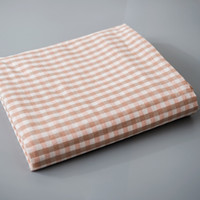 Wholesale blue checked bedding resale online - Simple Plaid Check Checkered Bedding Sets Bedspread Washed Cotton Multi Color Warm Single Double Soft Machine Wash Bed Sheet
