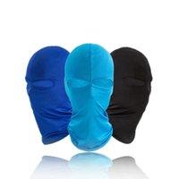 chapéu de balaclavas venda por atacado-Ao ar livre Ciclismo Máscara Facial Balaclava Bicicleta Máscaras de Equitação Caminhadas À Prova de Vento Caminhadas Ciclismo Chapéu Cap Máscaras Respirável