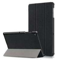 galaxy tab smart cover fold achat en gros de-Coque pour Samsung Galaxy Tab S5e pour tablette Galaxy pour onglet galaxie S5e 10.5 SM-T720 Couverture ultra-plate pour réveil-sommeil ultra-pliable