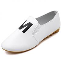 960ecebf2ff bailarina blanca al por mayor-Nuevo 2018 Primavera Mujer Bailarina Pisos  Moda Mujer Zapatos de