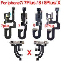 face à la caméra arrière achat en gros de-Original Pour iPhone 7 7G 7Plus 8 8G 8Plus Plus X Caméra avant Câble Flex Face arrière avec module de capteur de proximité