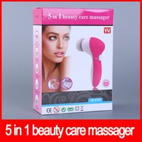 Wholesale multifunction face massager for sale - Group buy Multifunction Electric Face Scrubbers in beauty care massager Spa Skin Care massage Cleansing instrument Facial cleansing facial massage