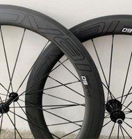 12 inçlik bisiklet jantları toptan satış-2019 Yeni 38mm 50mm Yol 700C Disk fren 100 * 12 142 * 12 60mm jant 88mm karbon tekerlek Yol Bisikleti için belirlenen
