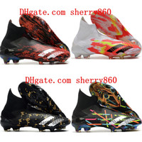 Wholesale children soccer shoe for sale - Group buy 2020 top quality mens boys soccer shoes Predator Mutator FG women children football boots botas de futbol tic size