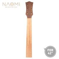 guitarra de mogno venda por atacado-NAOMI Guitarra Guitarra Luthier 42 Inch Guitarra DIY Mahogany Neck Rosewood Veener Para 42 '' Guitarra