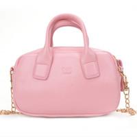 mejor bolso vintage al por mayor-Bolsos de mujer TOTE 18063 Nuevo estilo de moda de alta calidad Superventas Mini Girls Crossbody Bag Chain Ladies Vintage Style Lovely Female Handbag