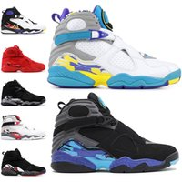 Wholesale mens shoes discount for sale - Group buy Discount Valentines day s Men Basketball Shoes Aqua Black White PEAT Chrome PLAYOFF Mens Trainer Athletic Sports Sneakers Size